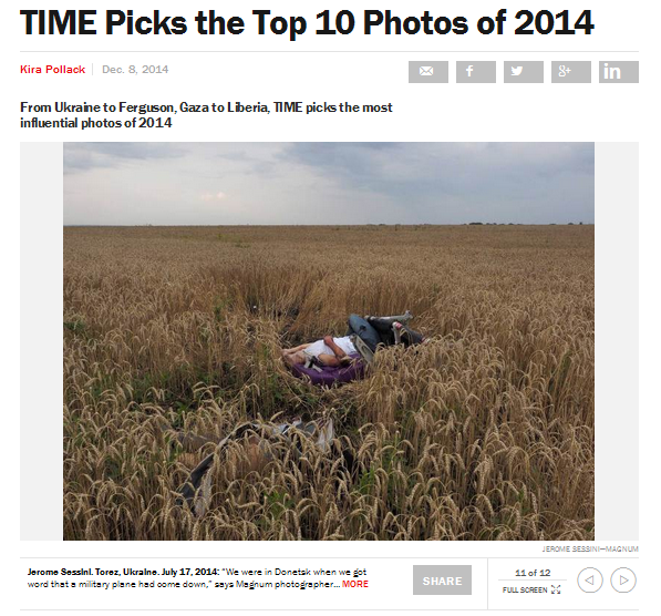 Трупы и пропаганда: ТIME отобрал лучшие фото года - 2014 - ссылка