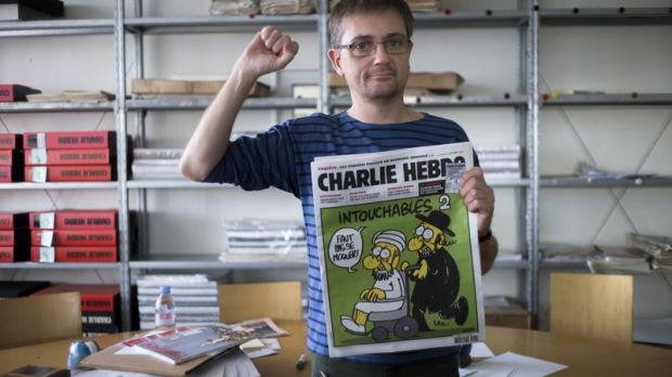 Карикатурист убитый во Франции генетическим мусором