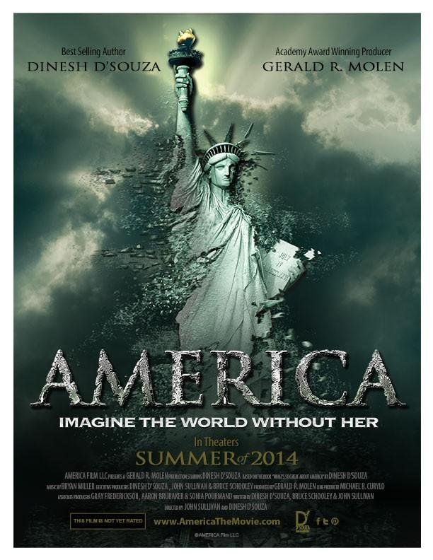 Америка: представь мир без нее (2014) - фильм Динеша Д`Суза America: Imagine the World Without Her (2014)