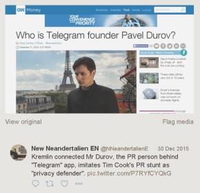 Для чего Условному Лондону еще одна социальная сеть - мессенджер Telegram?