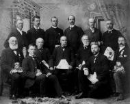 Freemasons old photo